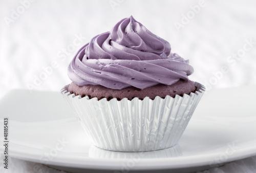 Eatable taro cupcake ready to serve for you