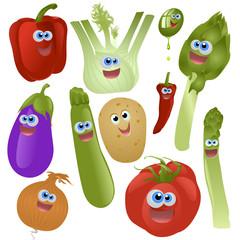verdure miste vector