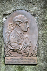 Goethe-Denkmal in Wernigerode