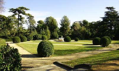 Jardines del Palacio Pedralbes, Barcelona