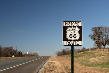 Route 66, Kansas