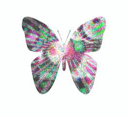 mosaico di farfalla