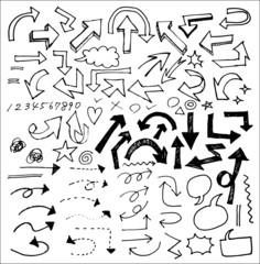 手書き・矢印