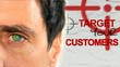 Target your customers! We help companies. White man client video