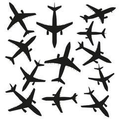 High resolution set of black planes
