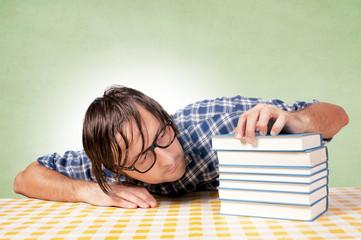 Drowsiness on books