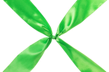 green ribbon cross