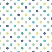 Kolorowe kropki wektor bezszwowe tło wzór