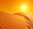 Zdjęcia na płótnie, fototapety, obrazy : Sand dunes in Sahara