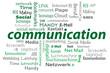 cloud Wörter grün Kommunikation