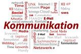 cloud Wörter rot Kommunikation