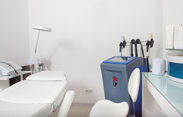 Interior of cosmetology clinic