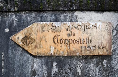 Chemin de Saint-Jacques de Compostelle - Dordogne, France