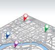 Isometric vector map