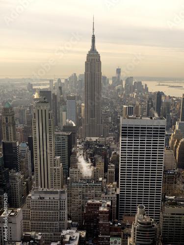 Panel Szklany New York skyline