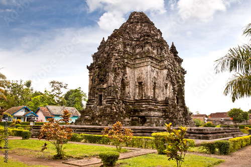 Candi Kalasan buddhist temple in Prambanan valley on  Java. Indo