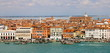 Vue sur le quai de l'arsenal à Venise - Italie