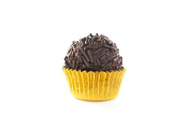 Delicious chocolate truffle