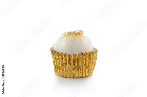 Delicious individual coconut cake