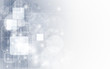 abstract grey technology business banner background