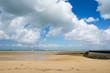 Beach from Boyard-ville with fort Boyard