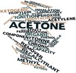 Word cloud for Acetone