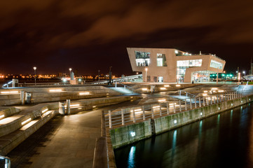 Liverpool Waterfront Modern Building
