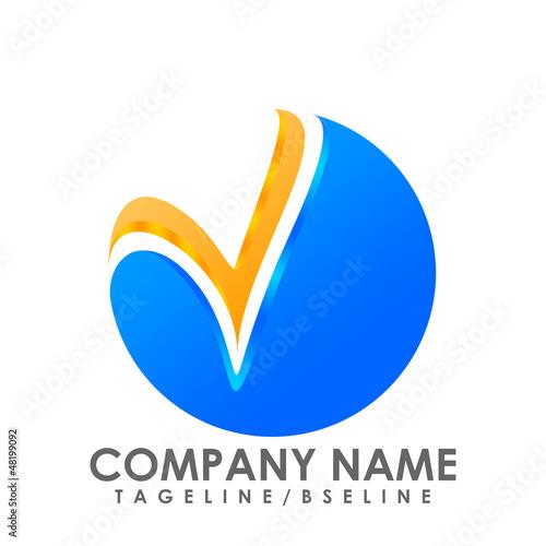 V. Company Logo