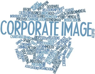 Word cloud for Corporate image