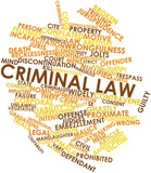 Word cloud for Criminal law