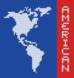 American pixel art