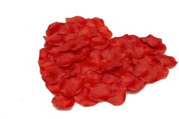 czerwone serce