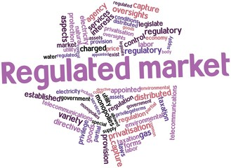 Word cloud for Regulated market