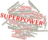 Word cloud for Superpower