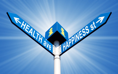 Health ave and happiness st