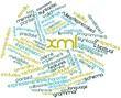 Word cloud for XML