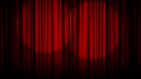 Theater, Curtain and Stage - Blue Screen - HD1080