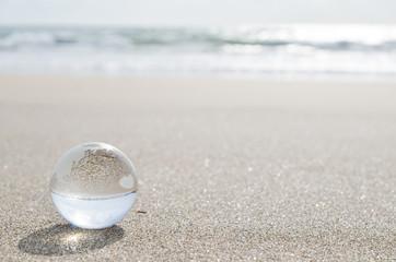 地球 砂浜