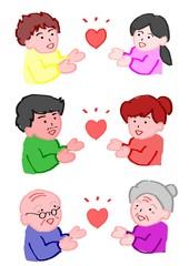 三世代バレンタイン