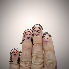 happy finger family