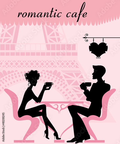 romantic cafe