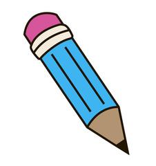 The pencil.
