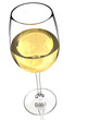 Wine glass isolated 2