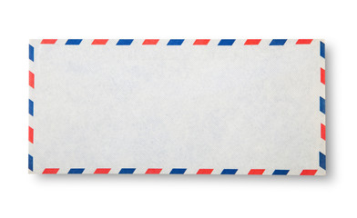 Close-up of  envelope.