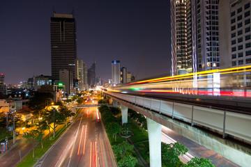 Skytrain in Bangkok, Thailand