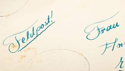 alter Brief © Matthias Buehner