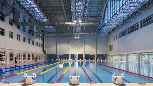 Fotobehang Fitness natatorium