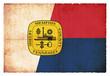 Grunge-Flagge Memphis/ Tennessee (USA)