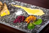 terrine of foie gras with apple chutney,