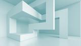 3d Futuristic Interior - 48214684